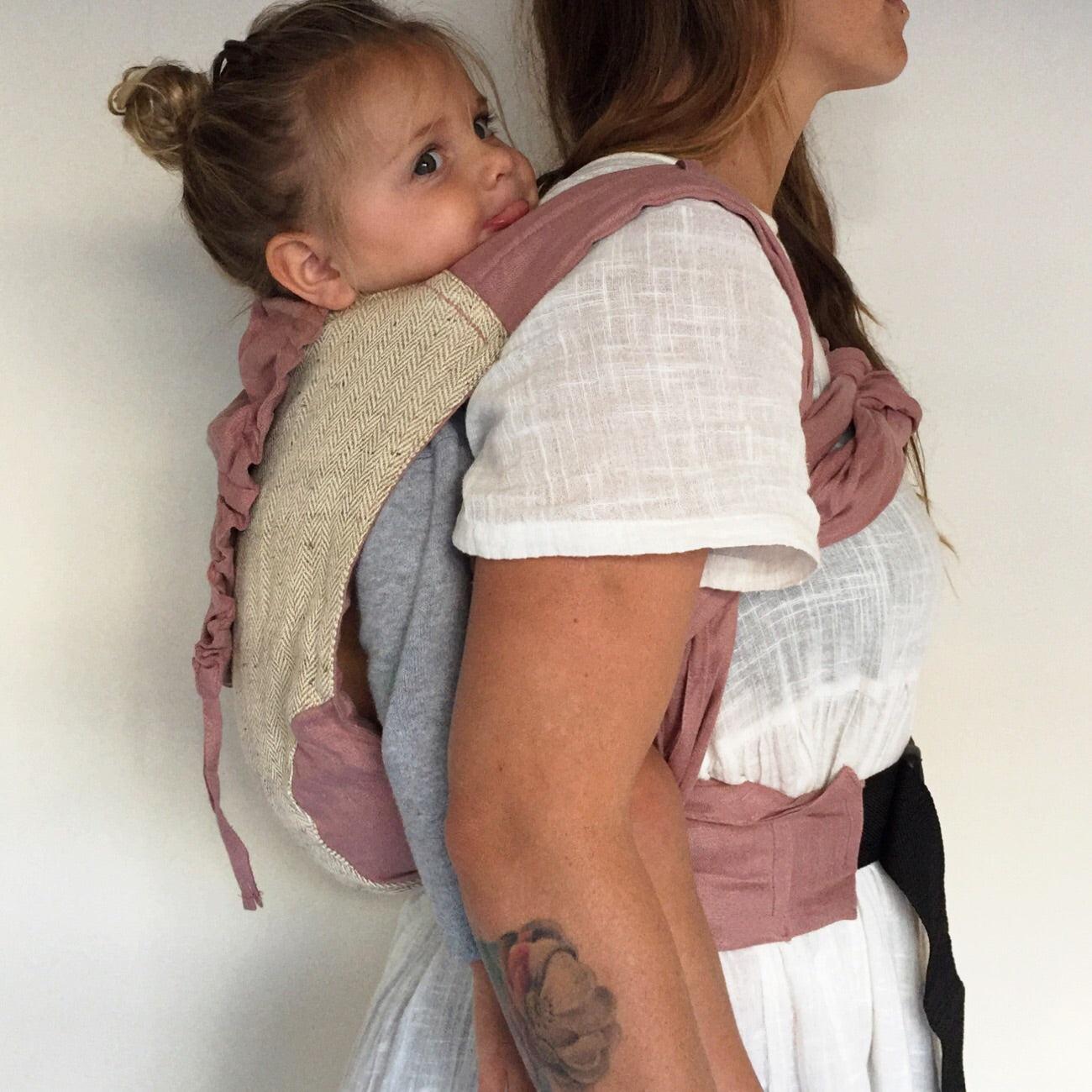 Rosewood Wrap Baby Carrier