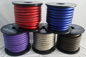 Oversized 1/0 AWG CCA Power/Ground Cable