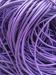 Purple Oversized Tinned 1/0 AWG OFC 50ft