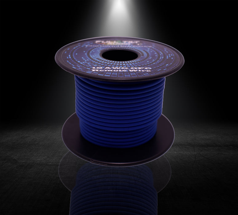 18ga Blue OFC Remote/Primary Wire (50ft)