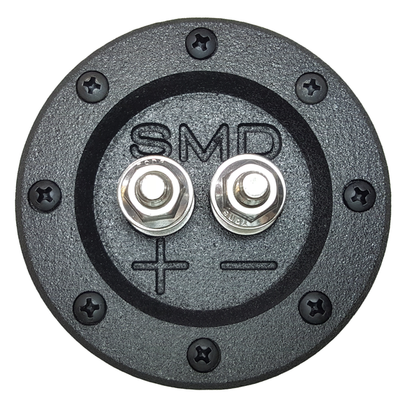 SMD 1 Channel Heavy Duty Speaker Terminal (Stainless) (3/4