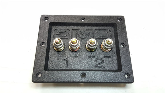 SMD 2 Channel Heavy Duty Speaker Terminal (Grade 8) (3/4