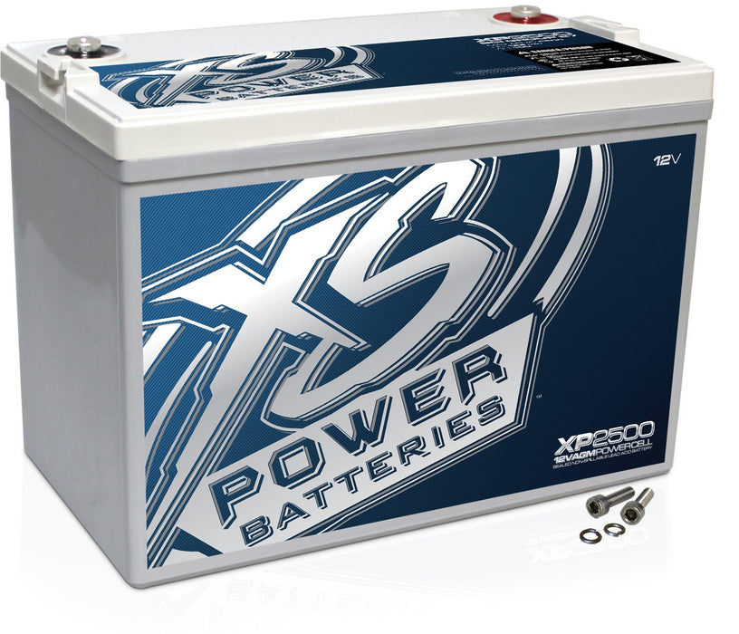 XS POWER | XP2500 | 2,500W 12V AGM Battery