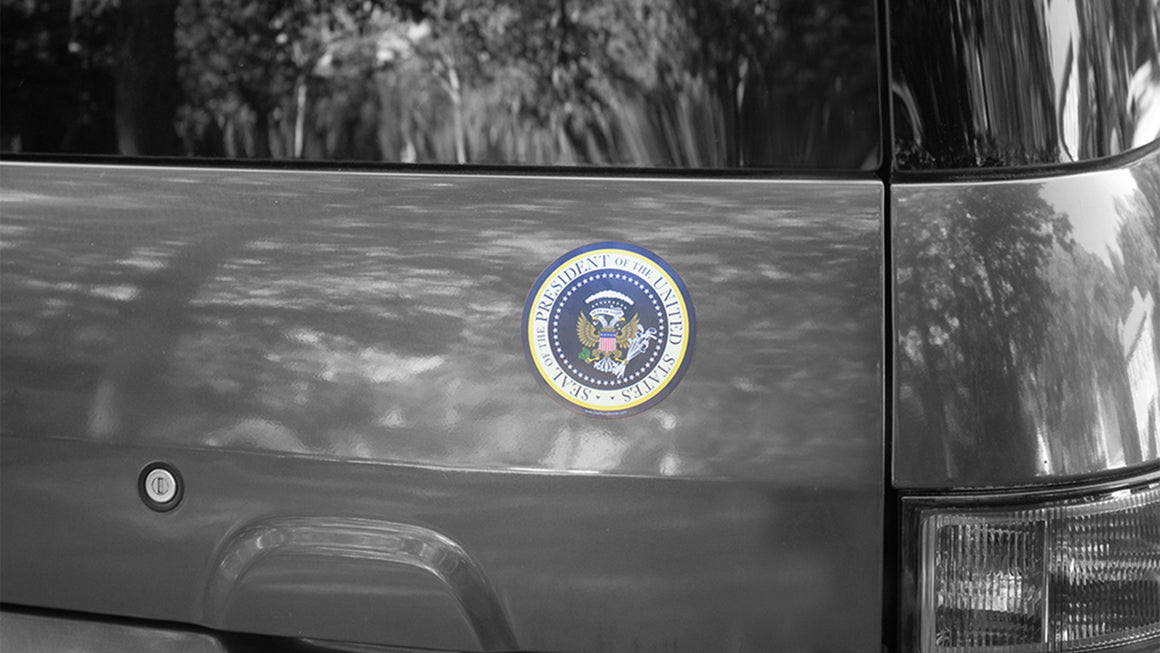 Magnet featuring Donnie's Presidential Seal