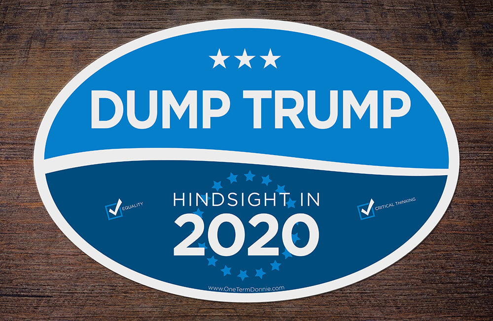 Dump Trump sticker