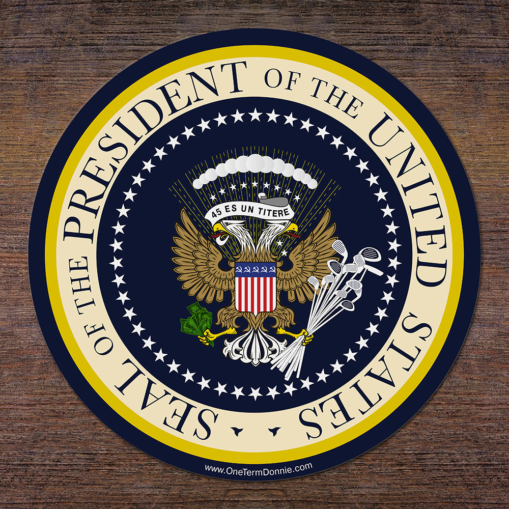 Donnie's Presidential Seal Sticker
