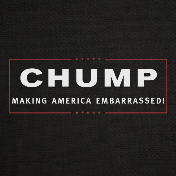 President Chump t-shirt (dark)