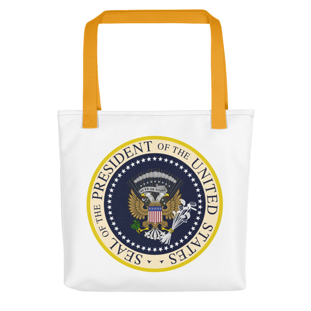Donnie's Presidential Seal Tote bag