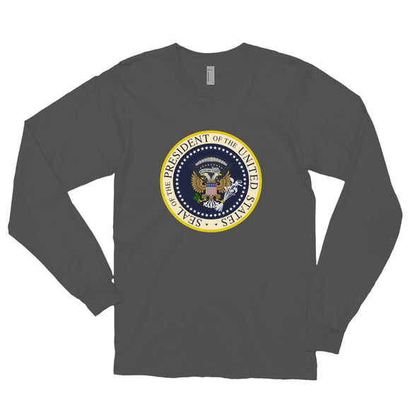 Donnie's Presidential Seal Long Sleeve t-shirt