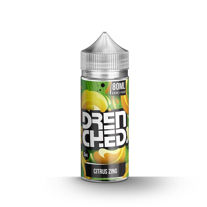 Citrus Zing - Drenched 80ml Shortfill