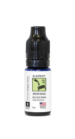Elements Dripper Key Lime Cookie - 50ML Shortfill