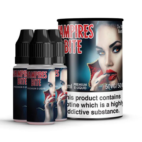 Vampires Bites - Red Slush 3x10ML CLEARANCE