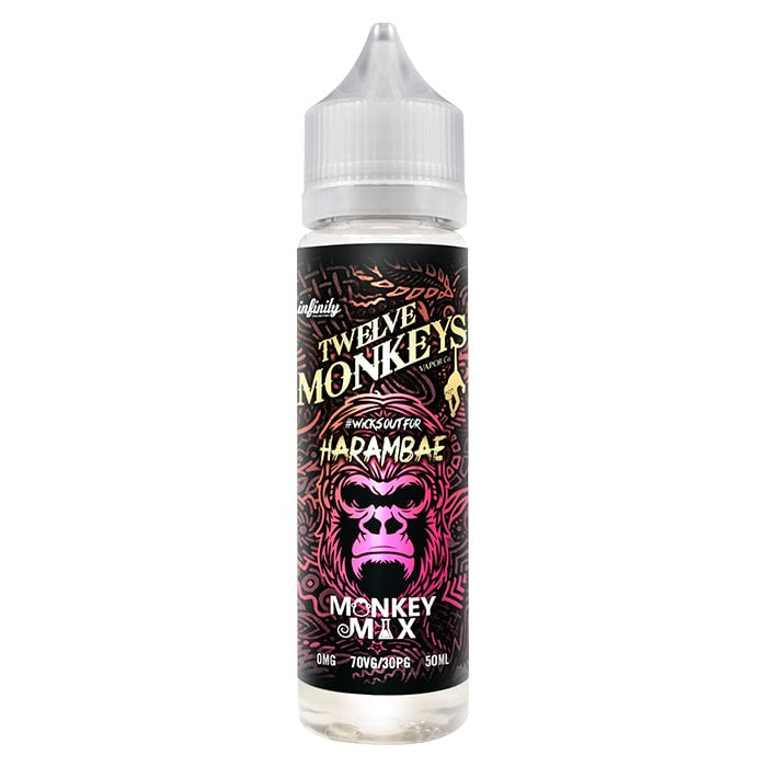 Harambae- Twelve Monkeys - 50ml Shortfill