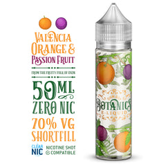 Botanics Valencia Orange & Passion Fruit - 50ml Shortfill