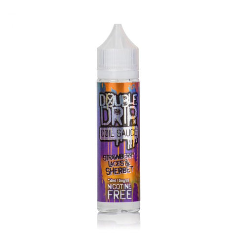 Double Drip - Strawberry Laces & Sherbet 50ML