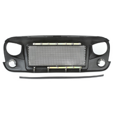 Black Mountain Heat Reduction Grille Set with Seal & Logo