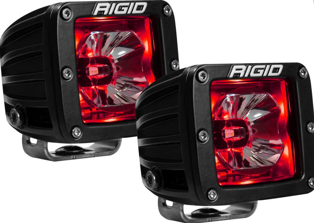 Rigid Industries Radiance Pod Red