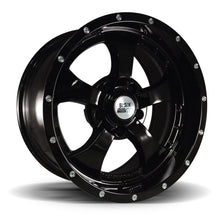 Black Mountain Gloss Black 17x9 Alloy Wheel
