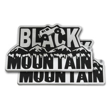 Black Mountain Emblem Set (Pair)