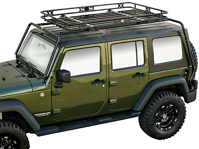Kargo Master Congo Roof Rack & Cage for Wrangler 4DR