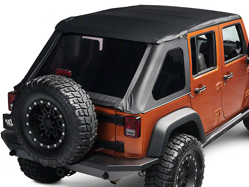 Bestop Trektop Soft Top for Wrangler 4DR