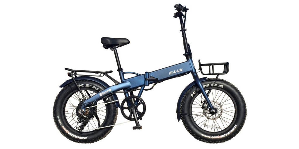 E-Lux Sierra Electric Folding Fat Tire