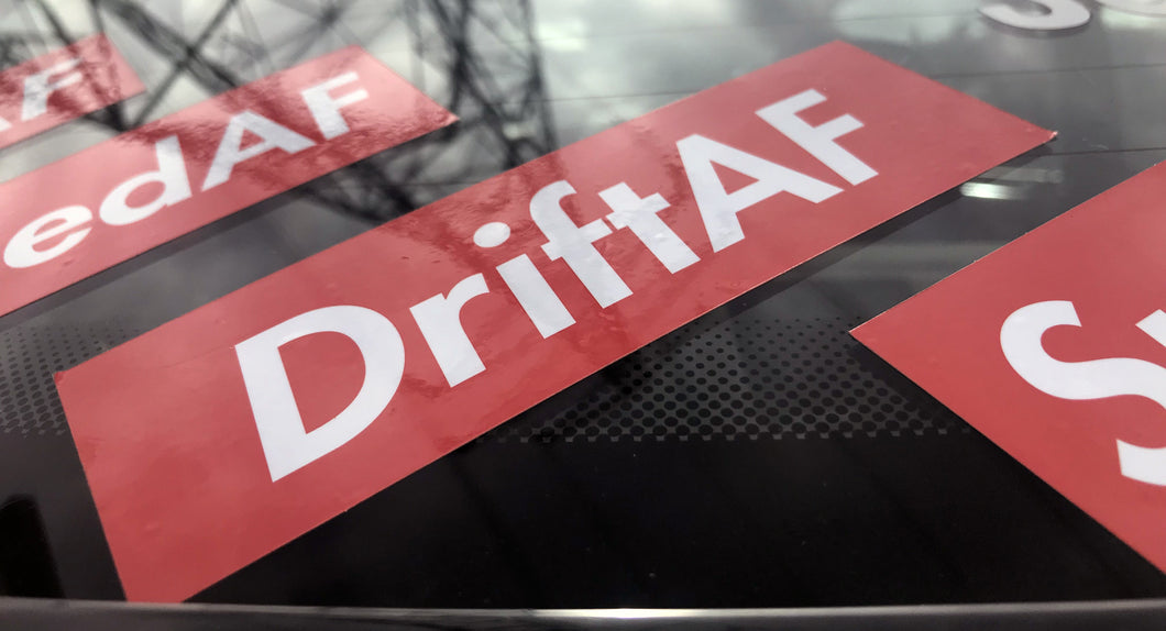 DriftAF Drift As F*ck Sticker