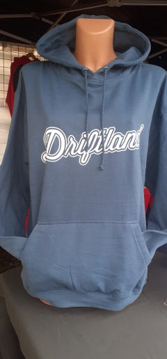 Driftland Logo Adult Hooded Top