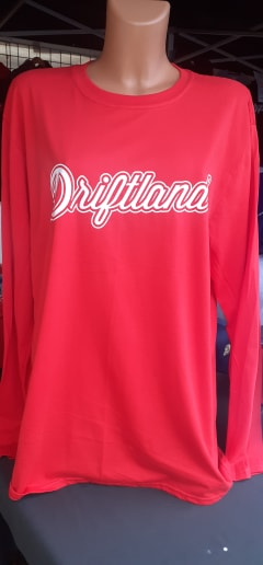 Driftland Logo Adult Long Sleeved Tee