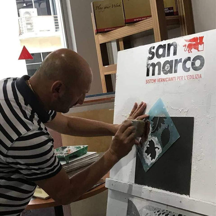 San Marco Training for Venetian Plaster, Concrete Effects, and Metallic Textured Paints at the ArtFusion Event
