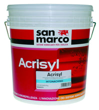 ACRISYL INTONOCHINO - Acrylic-Siloxane Facade Stucco by San Marco (White Base)-San Marco-The Decora Company