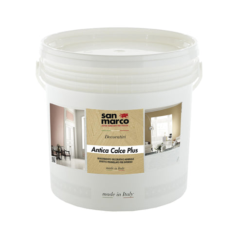 ANTICA CALCE PLUS - Decorative Lime Plaster Paste by San Marco-San Marco-The Decora Company