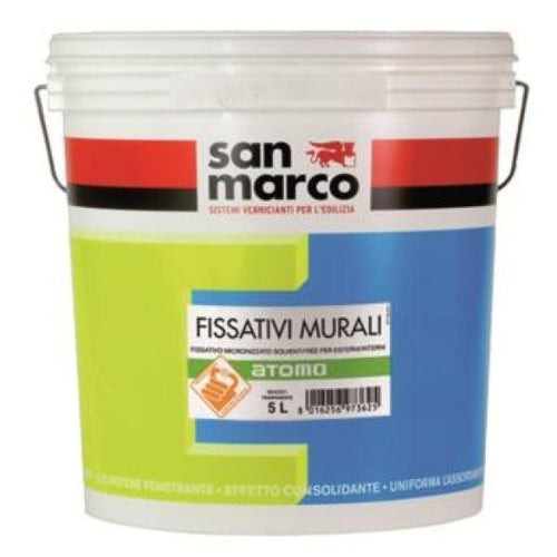 ATOMO - Zero VOC Sealer/Primer for Outdoor and Indoor Use by San Marco-San Marco-The Decora Company