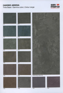 CADORO ARDESIA - Professional Iridescent Decorative Metallic Paint by San Marco (dark gray base)-San Marco-The Decora Company