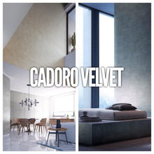 CADORO VELVET BIANCO - Metallic Decorative Iridescent Paint with Velvety Effect by San Marco (White base)-San Marco-The Decora Company