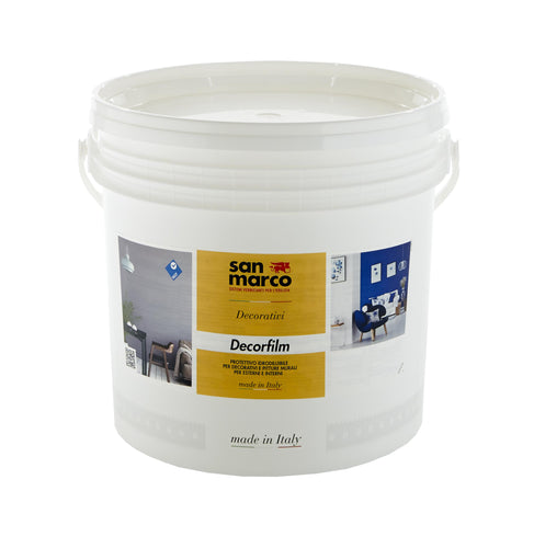 DECORFILM OPACO - Professional Clear Coat with Matte clear Finish by San Marco, 1L-San Marco-The Decora Company