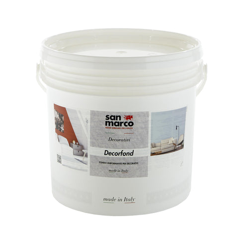 DECORFOND - Specialized Base Coat for Decorative Paint Finishes by San Marco-San Marco-The Decora Company