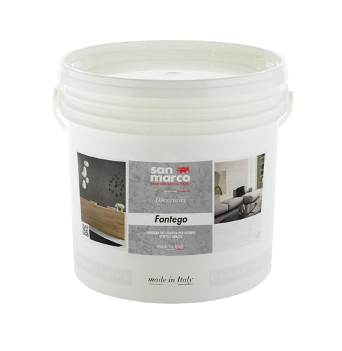 FONTEGO - Matte Finish Metallic Decorative Paint with Subtle Sand Texture by San Marco-San Marco-The Decora Company