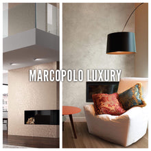 MARCOPOLO LUXURY BIANCO - Metallic Decorative Paint with Subtle Sand Texture by San Marco, White Base-San Marco-The Decora Company