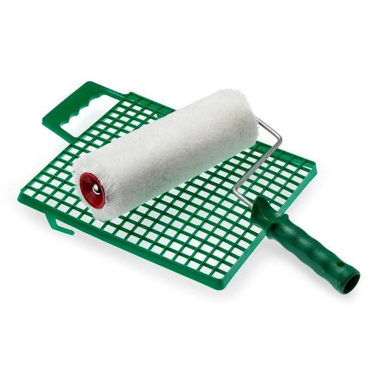 Pennelli Tigre Professional Flock Poly Roller With Grid-Pennelli Tigre-The Decora Company