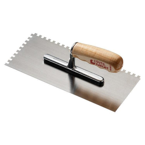 Pennelli Tigre Professional Stainless Steel Right Toothed Trowel (11