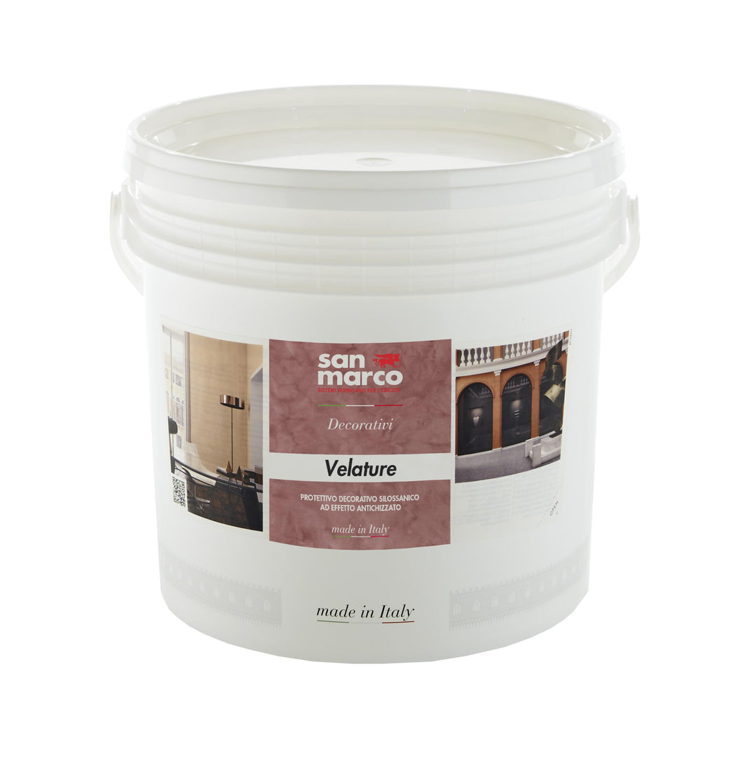 VELATURE - Tintable Siloxane Stain/Glaze for Aging and Highlights by San Marco-San Marco-The Decora Company