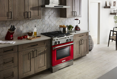 dufresne, appliances, red