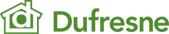 Image Logo of Dufresne Furniture in green coloour