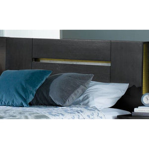 Milano Queen Panel Headboard - Graphite