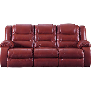 Vacherie Reclining Sofa - Salsa