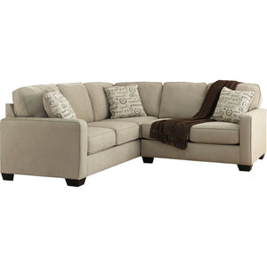 Sharon 2 Piece Sectional - Quartz