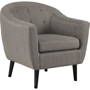 Gwen Accent Chair - Charcoal
