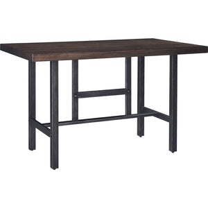 Mallone Counter Table - Medium Brown - (D469-13)