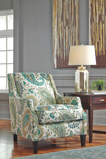 Lochian  Accent Chair - Jade